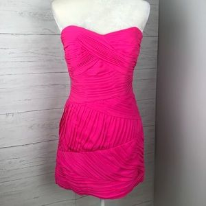 SHOSHANNA STRAPLESS DRESS